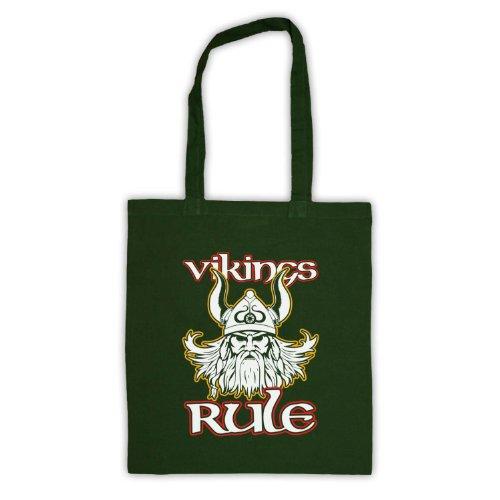 Vikings articolo Viking Tote Bag Verde scuro