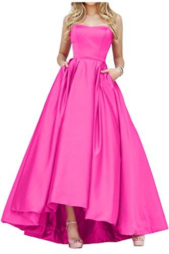 Promgirl House - Robe - Trapèze - Femme rose bonbon