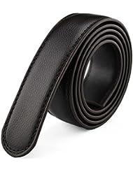 SAMGU Homme Ceinture en cuir Boucle de belt ceinture sans tête