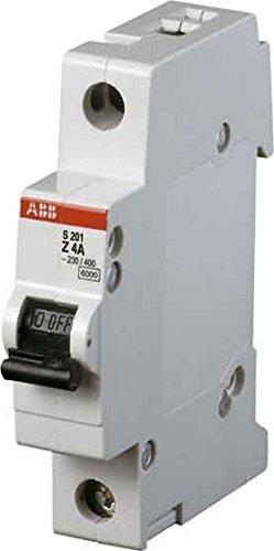 Preisvergleich Produktbild ABB Stotz S&J Sicherungsautomat S201-Z4 6kA 4A Z 1p System pro M compact Leitungsschutzschalter 4016779530378