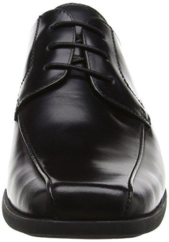 Derby Wistow Black Scarpe Black Uomo Stringate Steptronics qZ10aq