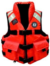 Mustang High Collar SAR PFD, Orange, XX-Large by Mustang