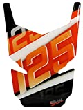 BIKE-label 502540 Tankpad 3D Orange Stripes Tank-Schutz passend für KTM-125 Duke