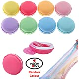 Party Propz Macaroon Crystal Slime kit Jelly (Set of 8) DIY Toy Mud Clay Soft Squishy Pudding Toy for Kids Education Gift