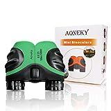 Aoneky Compact Mini Gummi 8x 21Kinder Fernglas für die Vogelbeobachtung, Best Christmas Geschenke für Kinder, empfohlen für Jungen Alter 3bis 11Jahren grün grün