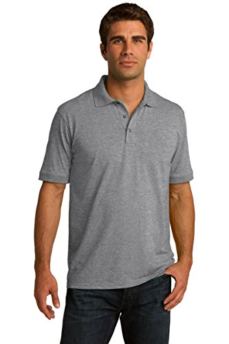 Port & Company® Tall Core Blend Jersey Knit Polo. KP55T Athletic Heather 3XLT