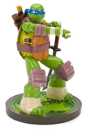 Penn-plax Teenage Mutant Ninja Turtles Leonardo Aquarium Ornament, Mini