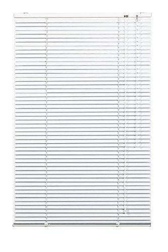 Lichtblick Jalousie Aluminium, 70 cm x 220 cm (B x L) in Weiß, Sonnen- & Sichtschutz, aber auch Verdunkelungs-Rollo, für Fenster & Türen