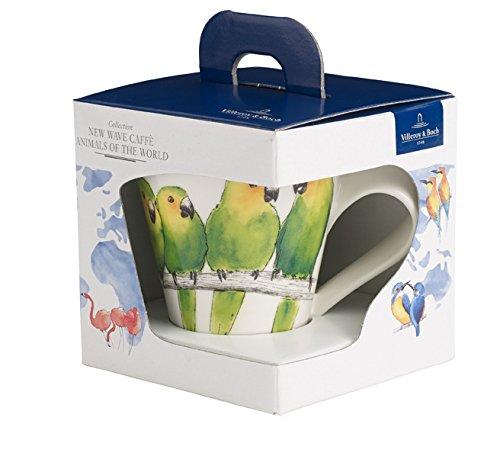 Villeroy & Boch NewWafe Cafè Kaffeebecher (Geschenkkarton), Premium Porzellan -