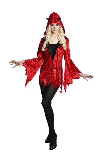 Halloween Damen Kostüm Diabola als Teufel zur Walpurgisnacht Gr.40