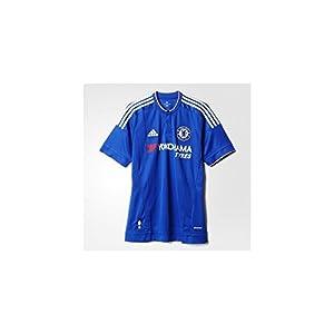 Adidas Pantaloncini Uomo Chelsea FC Home, Chelsea Blu/Bianco, S, M37426