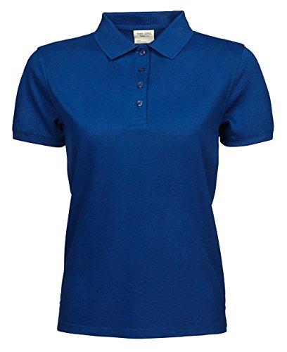 Ladies Heavy Polo Piqué Bleu roi