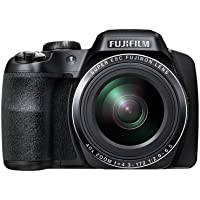 Fujifilm FinePix S8200 Digital Camera - Black (16.2 MP, 40x Optical Zoom) 3.0 inch LCD
