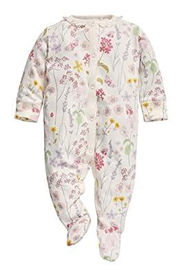 next Bebé Niña Paquete De Tres Pijama De Una Pieza Pelele De Algodón Estampado De Flores