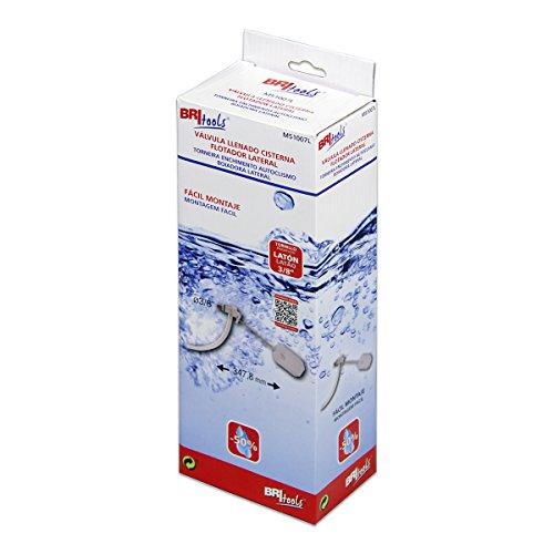 'britools m51007l-Spülkasten Ventil Füllen WC (3/8) weiß