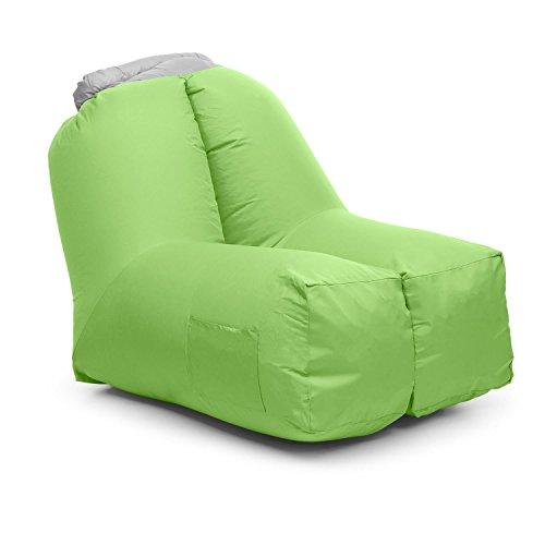 blumfeldt Airchair • Air Chair • Luftsessel • Aufblassessel • Luftmöbel • Maße: 80 x 80...