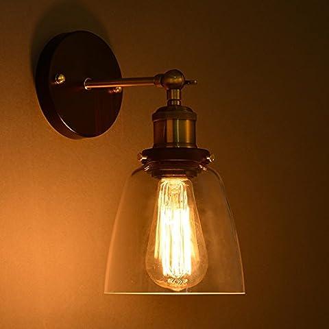 Decorativo per lampadario lampadario lampadario classico europeo delle industrie creative giardino calda retrò lampadario in (Ottone Impatto Della Testa)