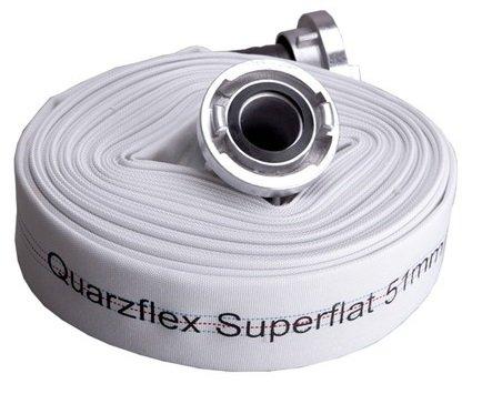 Quarzflex Industrie Bauschlauch C 52 mm 30 m Rolle incl. Gummischutz