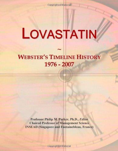 Lovastatin: Webster's Timeline History, 1976-2007 -