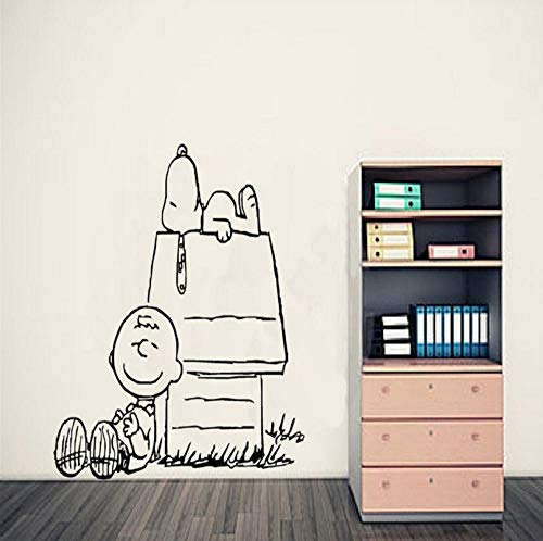 Qzheng Erdnuss Wandkunst Aufkleber Baby Wandtattoo Wandbehang Wandaufkleber Kinderzimmer Dekoration Vinilos Paredes Tapete 89 * 94 Cm