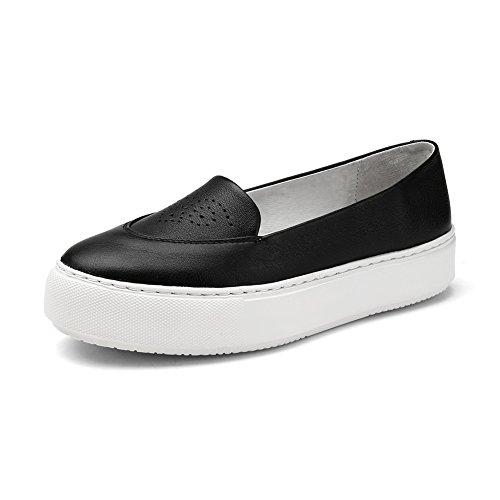 Chaussures légères/Pied sculpté plateforme shoes/ Lady chaussures plates avec tête ronde B