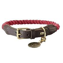 hunter Rope Collar List, Size 50, Medium, Bordeaux