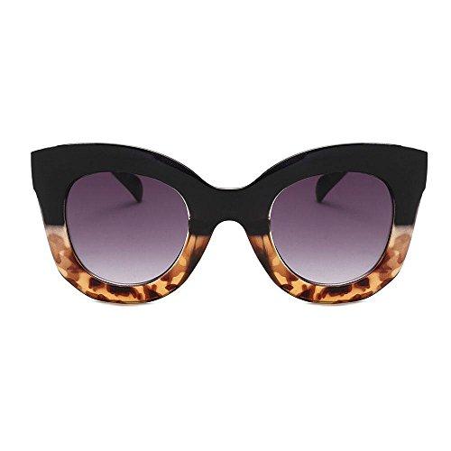 Aolvo donna vintage cateye occhiali da sole, peso quadrato a forma di occhiali da sole, occhiali da sole polarizzati occhiali da sole kawaii owl hd lenti uv 400personalizzata occhiali da sole #6