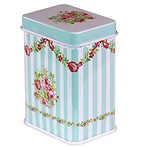 CARMANI - Rose Variation Collectibles Mini Métal Bibelot Tobacco Candy Tin Boîte a bijoux Piece de monnaie Thé Conteneur Micro Trésor Boîte de rangement avec des couvercles