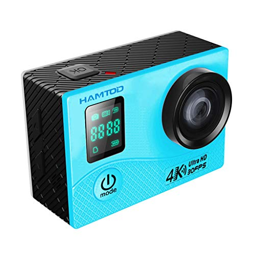 Kamera Wasserdichte , JUSTSELL Wasserdichte Digitale Actionkamera Ultra Full Hd 30M Wasserdichte Sport Action Camera ,Selfie/Einzelschuss,170 ° 6 BO Hd Ultra Weitwinkel-Fischaugen-Objektiv