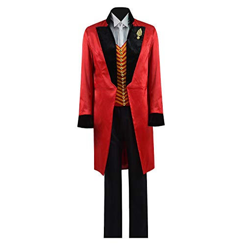 Zhangjianwangluokeji Ringmaster Kostüm Circus Showman Cosplay Performance Uniform Party Suit (X-Large, Farbe 1)