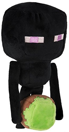 Minecraft - Happy Explorer Enderman Plush, Black