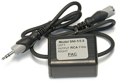 P.A.C. Pac sni-1/3.5 3,5-mm-Ground Loop Isolator funktioniert mit iPod/Zune/iRiver und andere