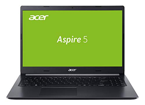 Acer Aspire 5 (A515-54G-792B) 39,6 cm (15,6 Zoll Full-HD IPS matt) Multimedia Notebook (Intel Core i7-10510U, 8GB RAM, 1.000GB PCIe SSD, NVIDIA GeForce MX250, Win 10 Home) schwarz aluminium