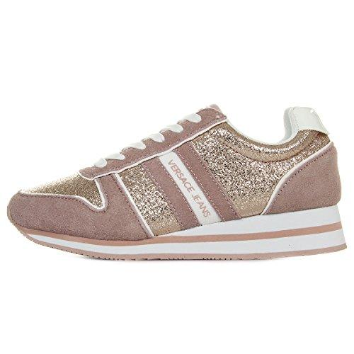 faa6170b38999 Versace Jeans Linea Fondo Stella Dis1 Suede Coated Shiny Textile  E0VRBSA170027521, Basket