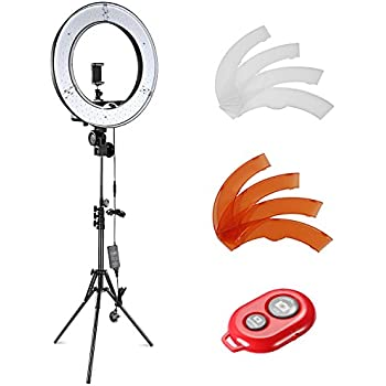 makeup light stand. 18 55w led smd dimmable diva ring light stand phone mount lighting makeup i