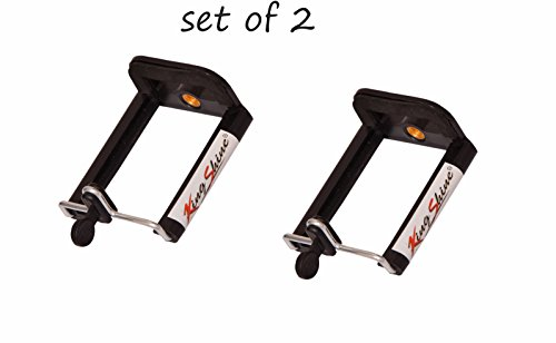 King Shine Universal Mobile Holder Attachment For Tripod & Monopod For Smart Phone Photography,(Set Of2)