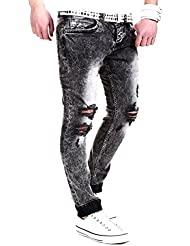 MT Styles Jeans Slim Fit Pantalon RJ-2007