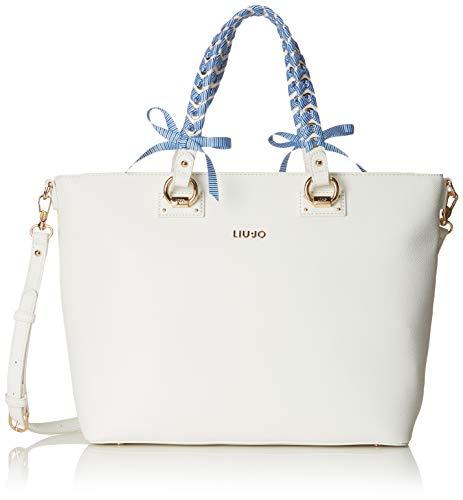 b2cc1a255e borsa liu jo bianco lucido rettangollare usato Spedito ovunque in Italia