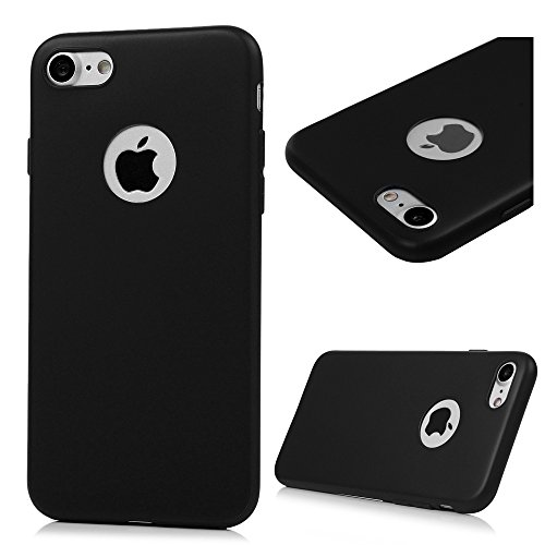 8x Cover iPhone 7 Silicone Custodia Morbido TPU Opaco - MAXFE.CO