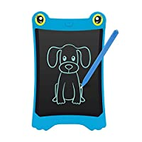 8.5 Inch LCD Writing Tablet Updated Frog Pad Children Electronic Doodle Board Jot Digital E-Writer Kids Scribble Toy with Lock Function Pink