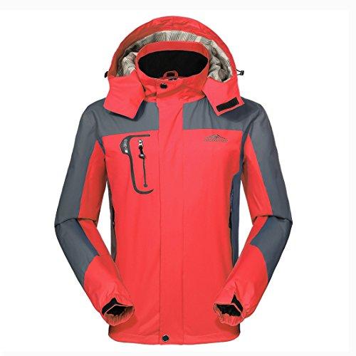 Waterproof Jacket Mens Raincoat Sportswear-GIVBRO New Design Outdoor Hooded Softshell Camping Hiking Mountaineer Travel Jackets