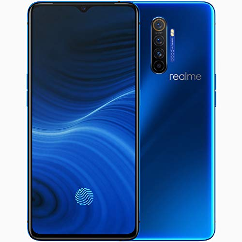 "realme X2 Pro smartphones Mobiles, 6,5 ""8 GB 128 GB Snapdragon 855 Plus Octa-Core, Quad Camera 64 MP + 16 MP, Dual Sim phone, European Version (Blue)"