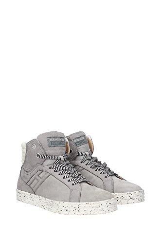 HXM1410R282C7U004D Hogan Sneakers Uomo Camoscio Grigio Grigio