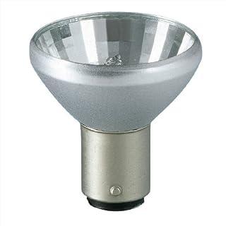 Philips Halogenglühlampe 12V, 20W, 18°, BA15d, Aluline, Glas matt