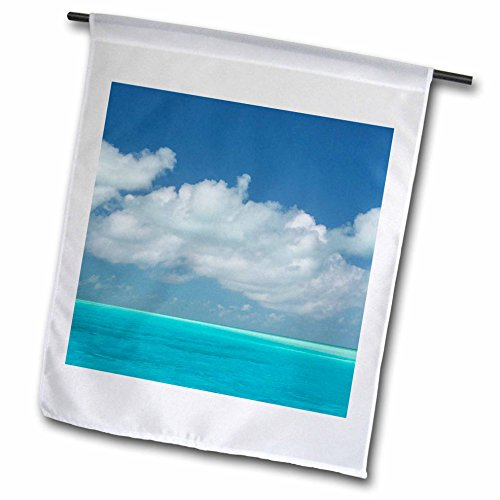 3drose FL _ 226499_ 22Garten Flagge, 45,7x 68,6cm (T-shirt Bahamas-flagge)