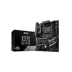 MSI X370 SLI PLUS, Sockel AM4, DDR4, HDMI,DVI 1x M.2 Steel Armor & 10x USB 3.1(2x Gen2 & 8x Gen1), 1x USB-C ATX Mainboard