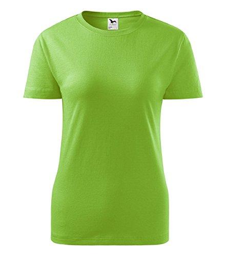 T-Shirt für Damen classic Shirt von Adler Apfelgrün