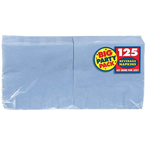 Kost-me 203283 Pastel Blue Big Party Pack-Getr-nke (Big Party Costume Blue's)