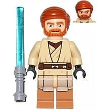 Lego Star Wars Minifigur Obi-Wan Kenobi (75012) with Lightsaber