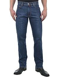 Pierre Cardin - Jeans - Jambe droite - Uni - Homme bleu bleu